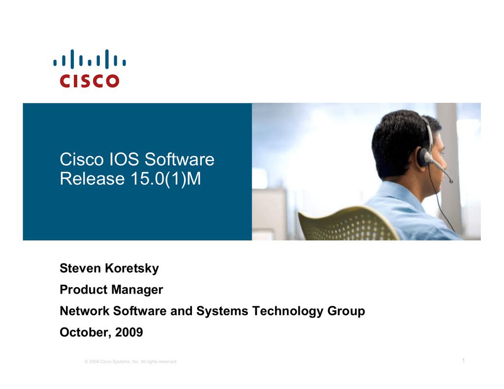 Cisco IOS Software Release 15 0(1)M