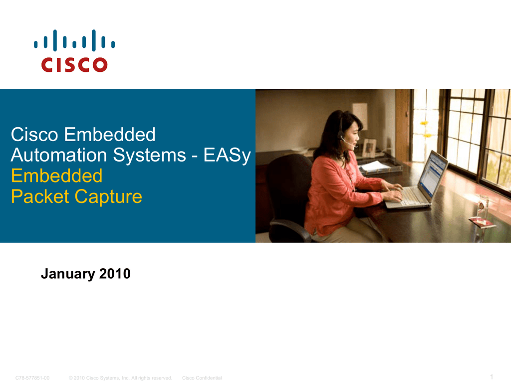 Cisco Embedded Automation Systems - EASy Embedded