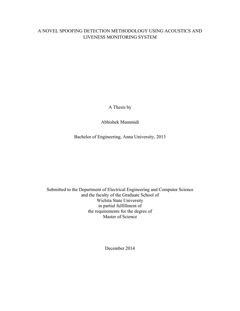 computer monitoring system thesis
