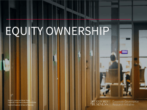 EQUITY OWNERSHIP
