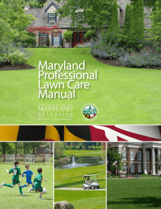 Maryland Professional lawn Care Manual