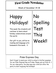 No Happy Spelling Holidays!
