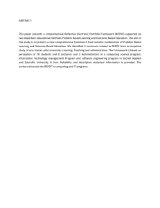 ABSTRACT:  This paper  presents  a comprehensive  Reflective ...