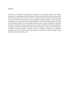 ABSTRACT:  Advancement  in  information  technologies  has ...