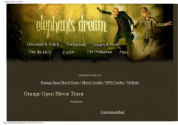 Orange Open Movie Team Movie Credits DVD Credits Website