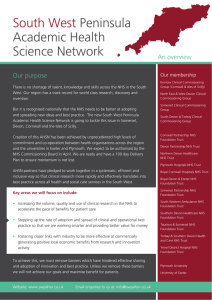 South West Peninsula Academic Health Science Network