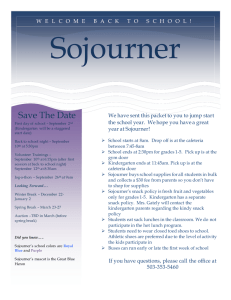 Sojourner Save The Date