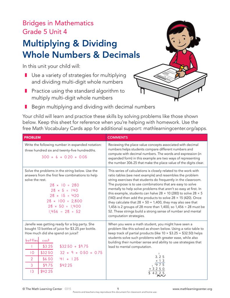 Multiplying &