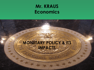 monetary policy notes