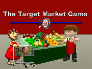 The Target Market Game