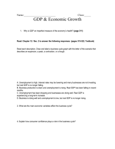 GDP and You WS