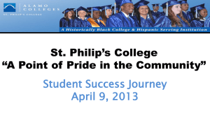 ACCD Board Presentation – Student Success Journey 2012-2013