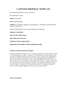 Thesis Proposal Template (doc):