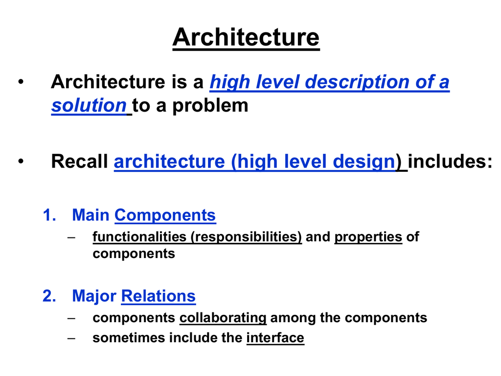Software Architecture Styles Patterns Chapter 15
