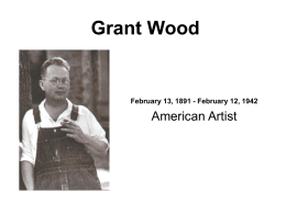 Grant Wood Sample Presentation