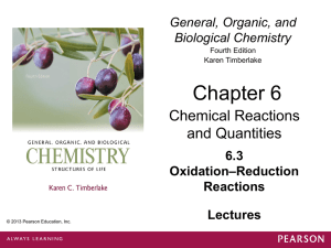 3. Oxidation-Reduction Reactions