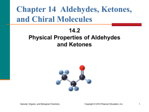 2. Physical Properties of Aldehydes and Ketones