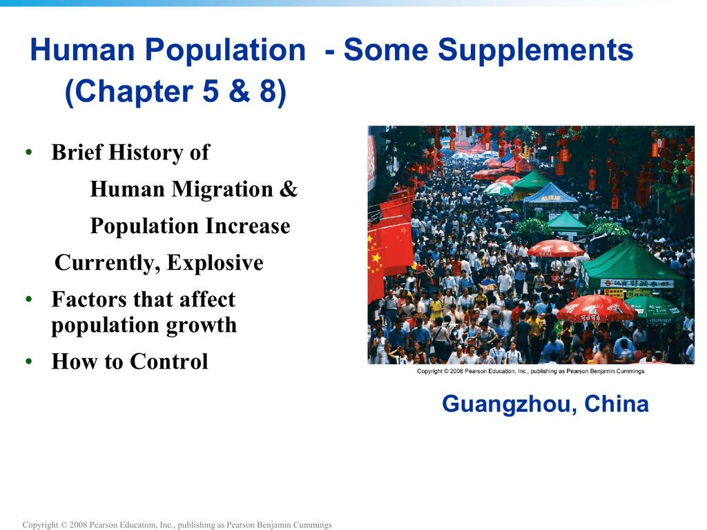 Ch  8 Human Population