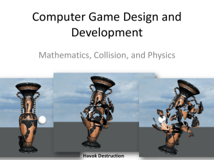 Game Math, Collision Detection Game Physics