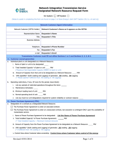Designation of Network Resource Request Form Updated:2014-05-01 06:21 CS
