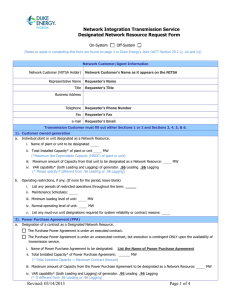 Designation of Network Resource Request Form Updated:2015-05-22 08:41 CS