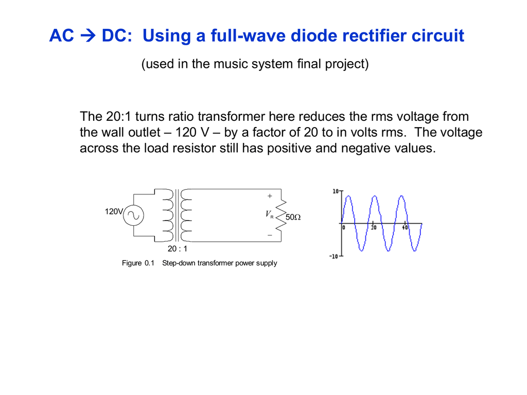 Full Wave Rectifier Info Ppt Voltage Circuit