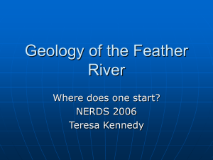 Feather River Geology