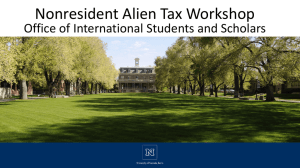 2016 Tax Workshop PowerPoint here
