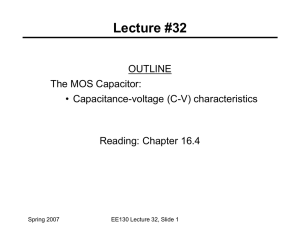 Lecture 32