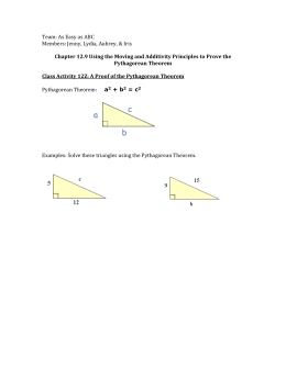 Worksheet from Easy as A, B, C