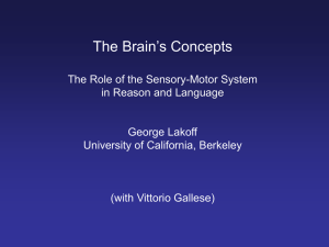 The Brain's Concepts