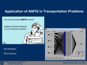 ANFIS Application for Estimating Turning Volumes Based on Loop Detector Data