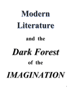 Modern Lit. Dark Forests of Imagination.docx