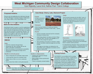 West Michigan Community Design Collaboration: Connecting Students and the City