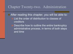 Chapter Twenty-two.  Administration