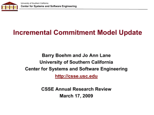 Incremental Commitment Model Update