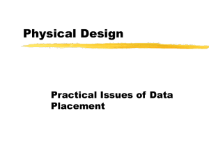 PowerPoint Presentation - Physical Design