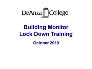 Lock Down Training