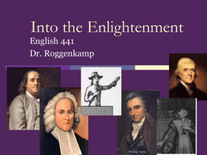 Age of Enlightenment Power Point
