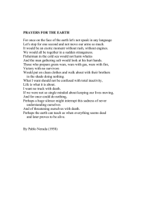 Prayers for the Earth by Pablo Neruda