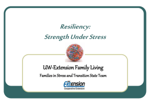 Family Resiliency PowerPoint