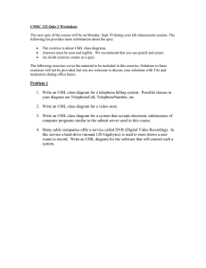 CMSC 132 Quiz 2 Worksheet