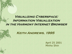 Visualizing Cyberspace: Information Visualization in the Harmony Internet Browser Keith Andrews, 1995