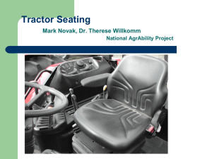Tractor Seating Tuesday, November 8th, 2005a.ppt