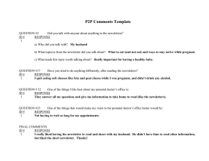 P2P Comments Template
