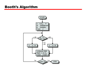 Booth's Algorithm