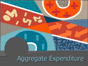 Aggregate Expenditure Chapter 10