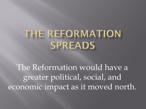 Reformation Spreads