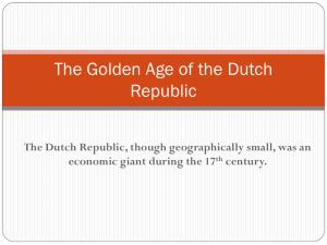Golden Age of the Dutch
