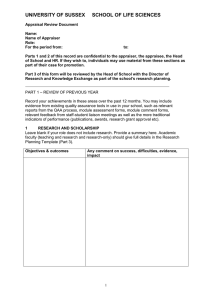 Academic appraisal form 2015 [DOC 79.50KB]